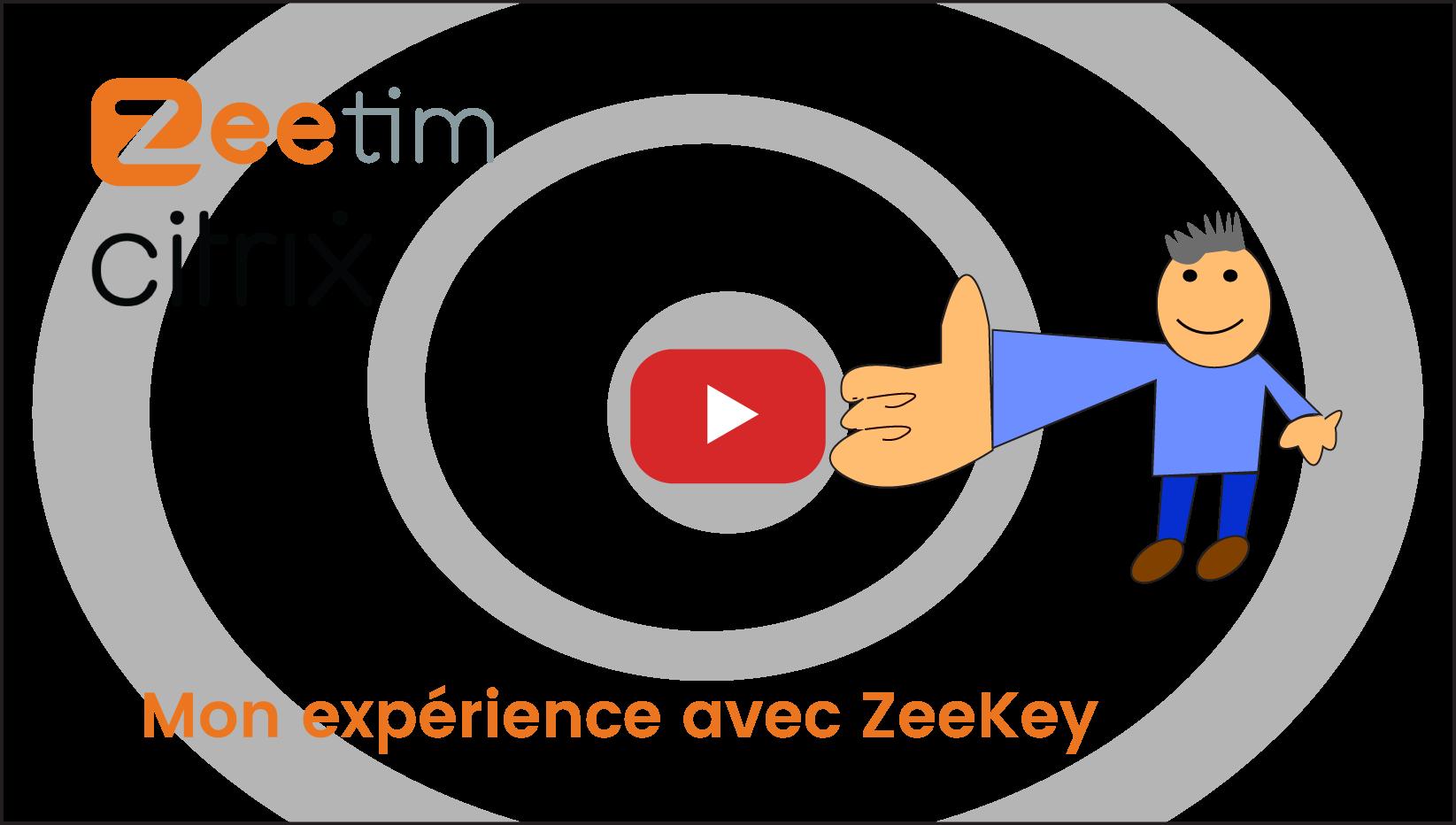 Un client expliquant la fantastique expérience utilisateur qu'il a obtenue en utilisant ZeeKey.