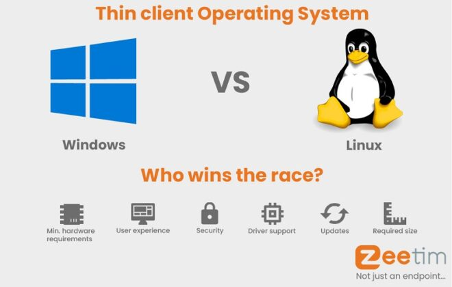 Windows VS Linux, which is the best thin client Operating System.